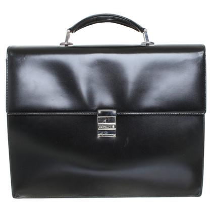 Mont Blanc Briefcase in black