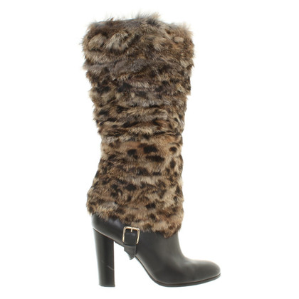 Michael Kors Ankle boots with fur trim