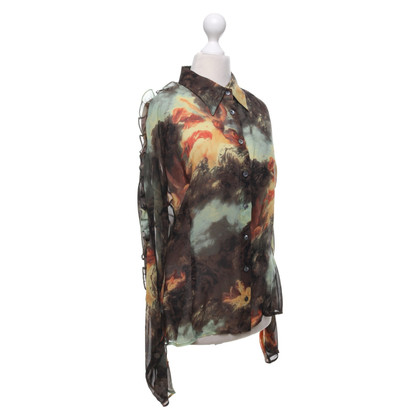 D&G Silk blouse with pattern