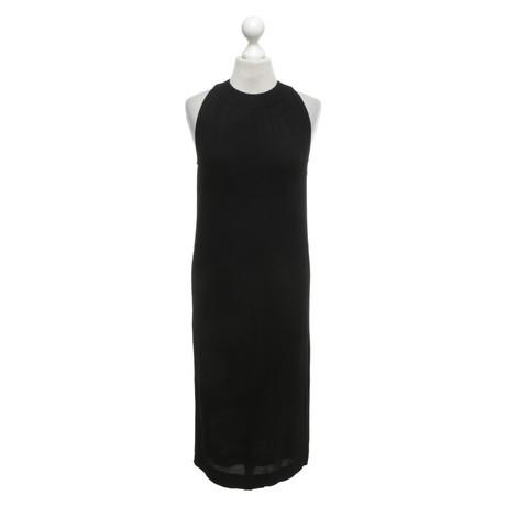 Herm猫s Kleid in Schwarz Schwarz