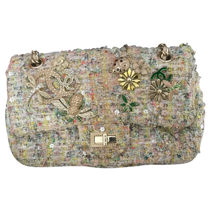 "Chanel ""Tweed Garden Party 2.55 Reissue Flap Bag"""