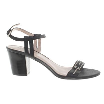 Donna Karan Sandals in black