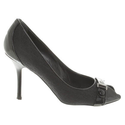 Christian Dior Peep-toes in black