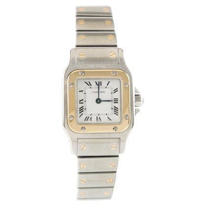 "Cartier ""Santos Lady Quarz Revision"""