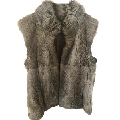 Michael Kors Sleeveless fur vest