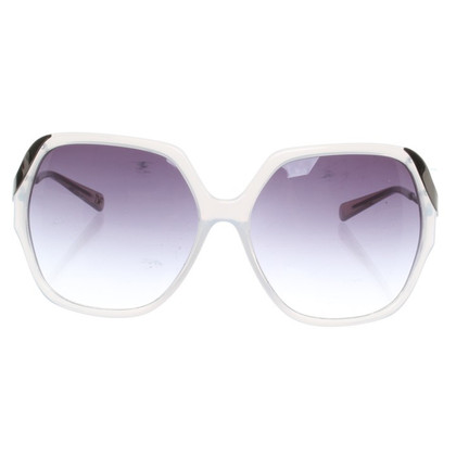 Diane von Furstenberg Sunglasses in white