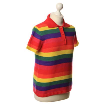 Prada Top con delle strisce colorate