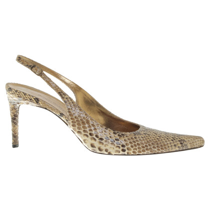 Dolce & Gabbana Slingbacks made of snakeskin