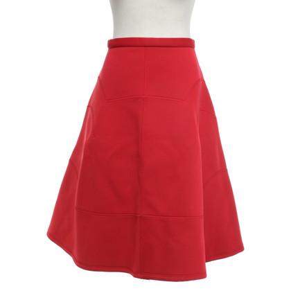 Comme des Garçons skirt in red