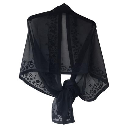 Louis Vuitton sciarpe di seta del monogramma