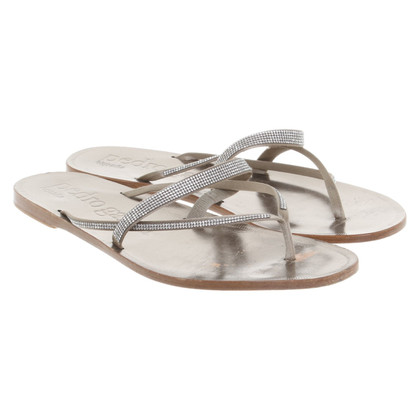 Pedro Garcia Bronze colored sandals