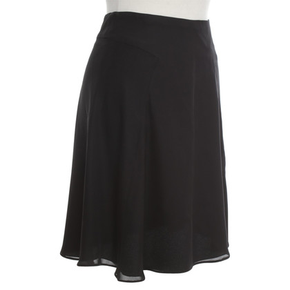 Giorgio Armani Silk skirt in black
