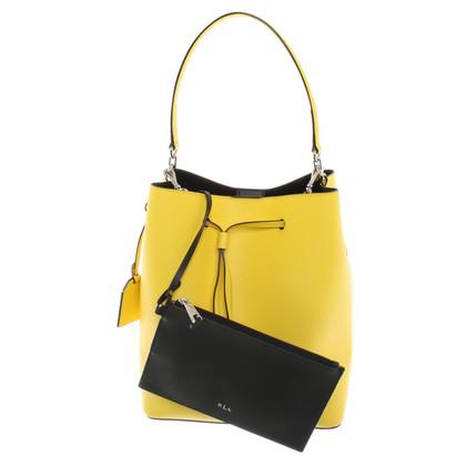 Ralph Lauren Handtas in geel