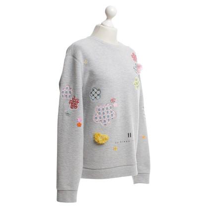 Other Designer Claes Iversen - Sweater with appliqués