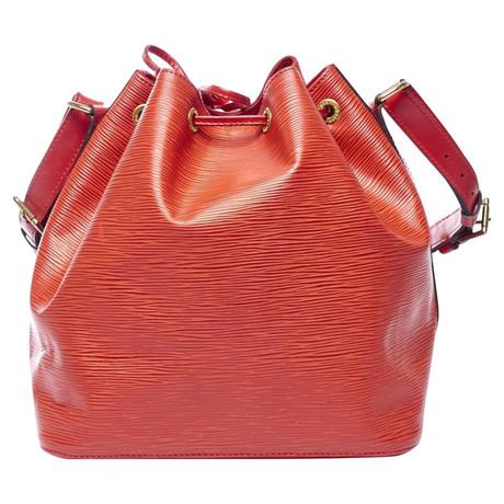 Auslauf Louis Vuitton Petit Noé Red Epi Rot Billige Echte Iz82beJ0A