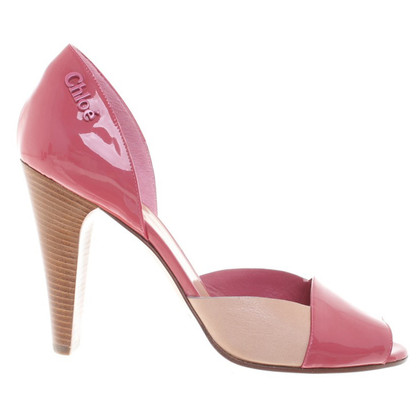 Chloé Peeptoes patent leather
