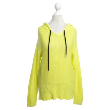 Alexander Wang maglia maglione in giallo neon