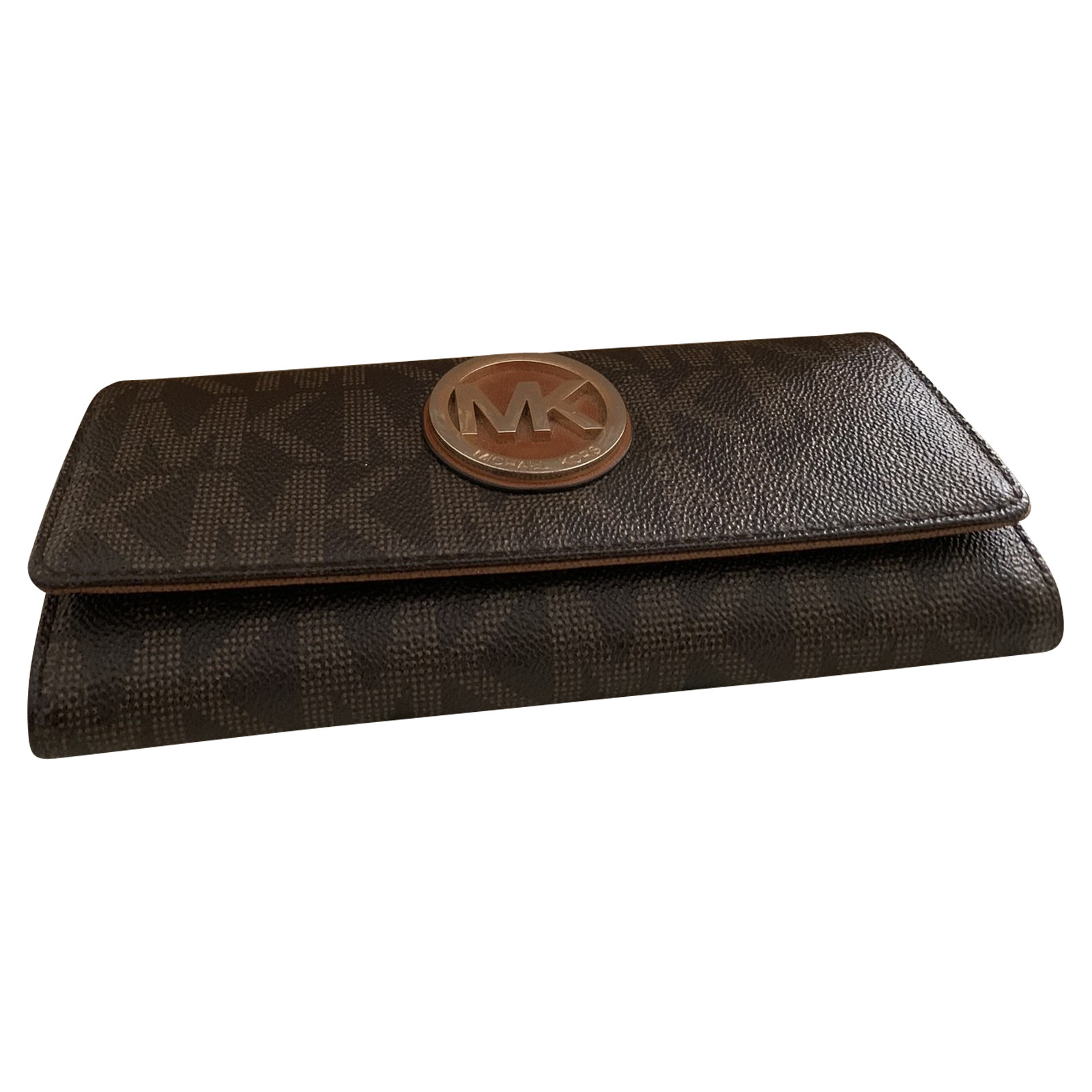 Michael Kors BagPurse Leather in Brown Second Hand