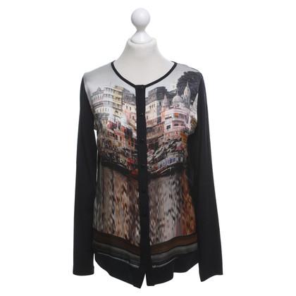 Piu & Piu Sweater met motief druk