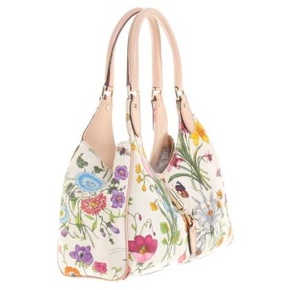 Gucci Shoulder bag with flower pattern