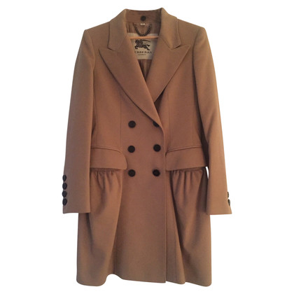 Burberry Long coat with detachable fox fur