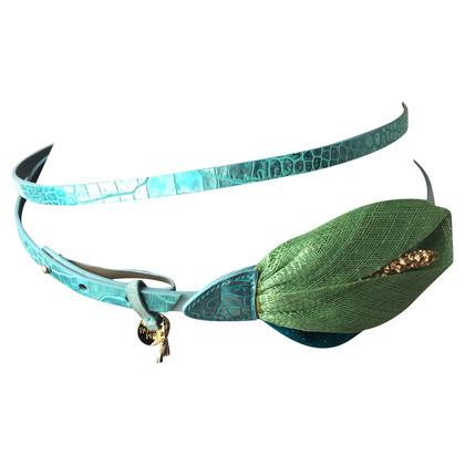 Patrizia Pepe Blue belt