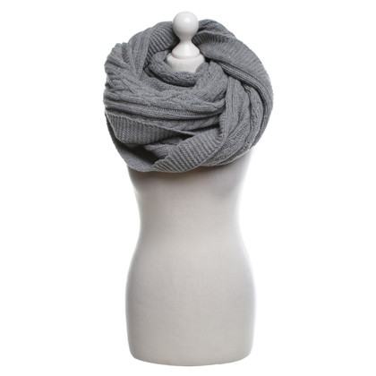 Patrizia Pepe Big scarf in grey
