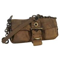Prada Handtasche mit Nietenbesatz