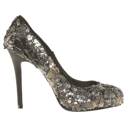 Karen Millen pumps with sequins