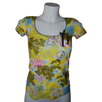 Just Cavalli top bloemen