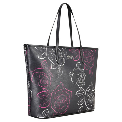 Armani Jeans shopping bag con fiori