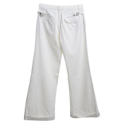 Ralph Lauren Wijde broeken in crème