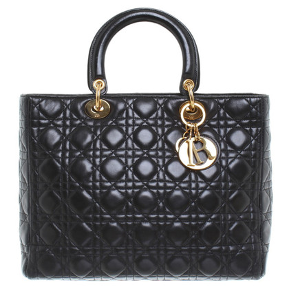 "Christian Dior , Lady Dior ""in nero"