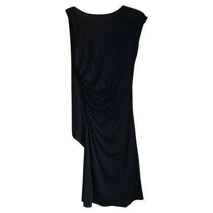 Moschino Cheap and Chic Black Ruffle Dress