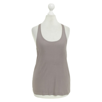 Filippa K Top in seta in Taupe