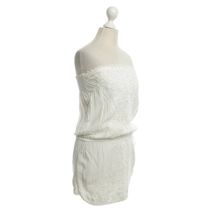 Melissa Odabash bandeau dress in white