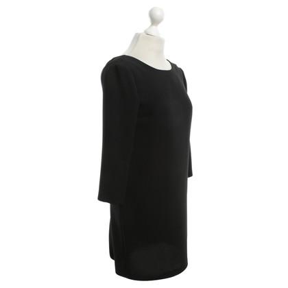 Sandro Boxy dress in black