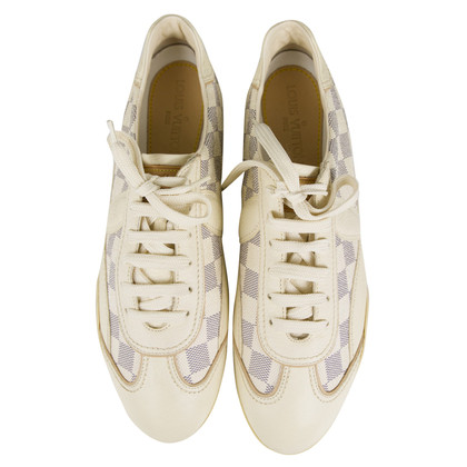 Louis Vuitton Azur Damier Canvas Sneakers