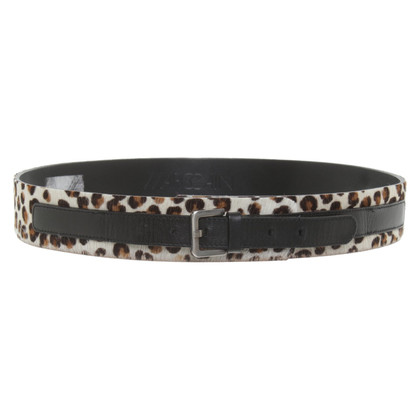 Marc Cain Belt with leopard pattern