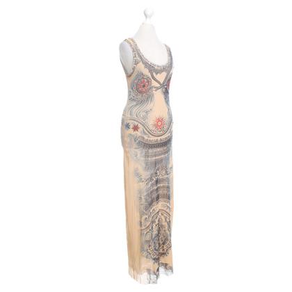 Jean Paul Gaultier Tulle jurk met tattoo patroon