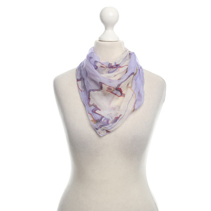 Chanel silk carré scarf with Print