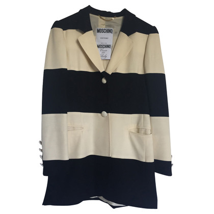 Moschino Striped Blazer