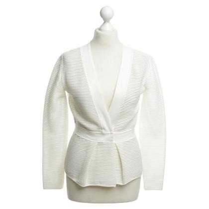 Armani Collezioni Cardigan bianco