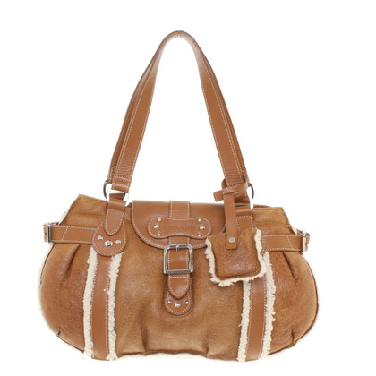 Longchamp Borsa a mano marrone