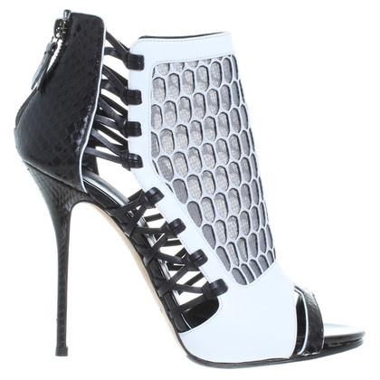 Casadei Sandals in black and white