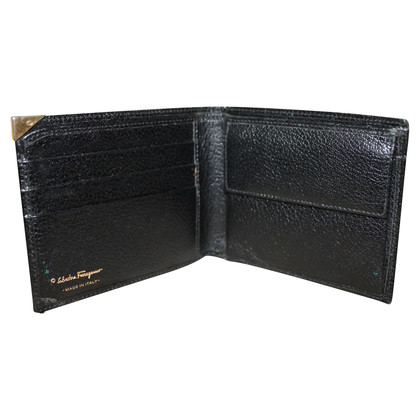 Salvatore Ferragamo Wallet in zwart