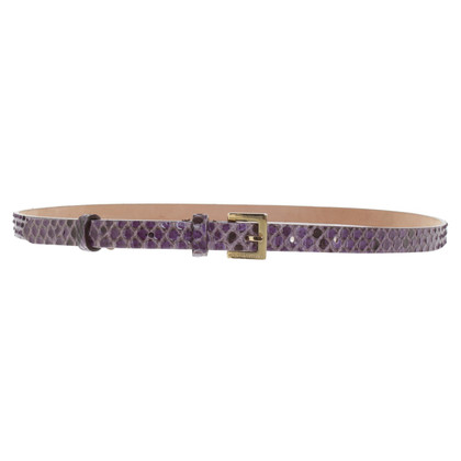 Dolce & Gabbana Belt made of snakeskin