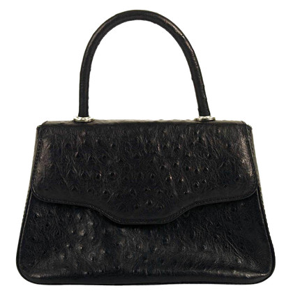 MCM Handbag made of ostrich leather