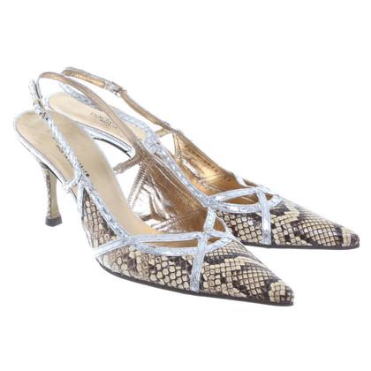 Dolce & Gabbana Slingback pumps in reptile finish
