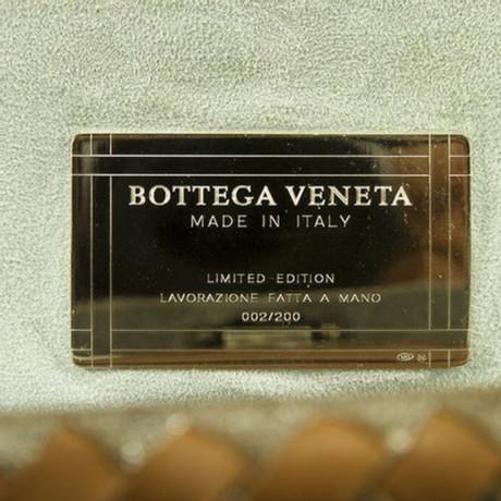 Auslasszwischenraum Store Günstiger Preis Vorbestellung Bottega Veneta Wildleder-Handtasche Silbern Auslass-Websites Shop Für Verkauf Q0so54Bi27